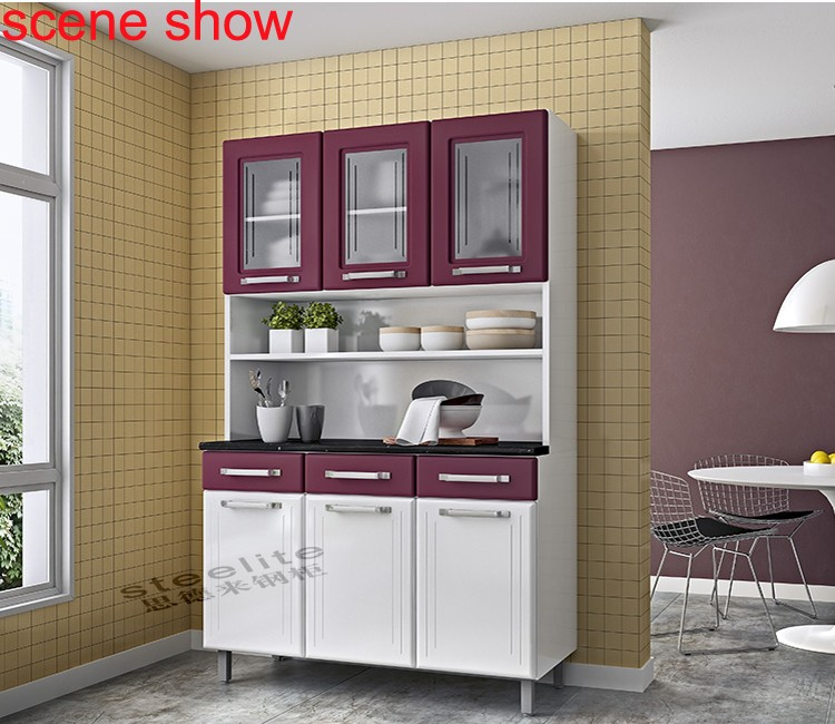 Direct factory steelite white metal kitchen cabinets sale for Gabinetes de cocina baratos