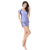 Low MOQ Stock  Modest Islamic Swimwear Muslim Swim Suits short sleeves ladies Swimwear For Women