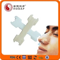 FDA certificate breath right and reduce snore nosal strips/nasal plaster