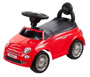 Official Licensed Fiat 500 Kids Ride On Toy Car Hz8620 Buy Ride