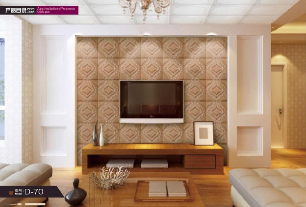 Decoratie Slaapkamer Muur : Waterdichte pvc d plafond decoratieve d panel pvc wandpanelen