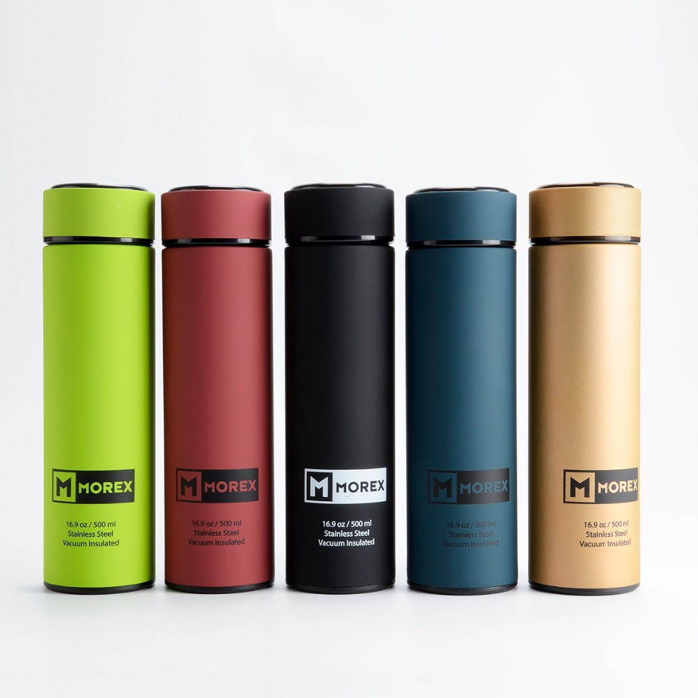 Double Wall Insulated Stainless Steel Thermos Travel Mug