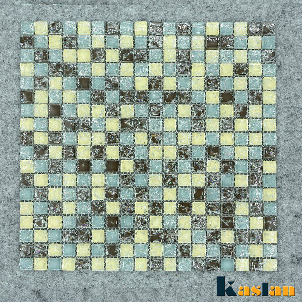 Clear Glass Mosaic Highlighter Tiles For Kitchen Factory Supply ...