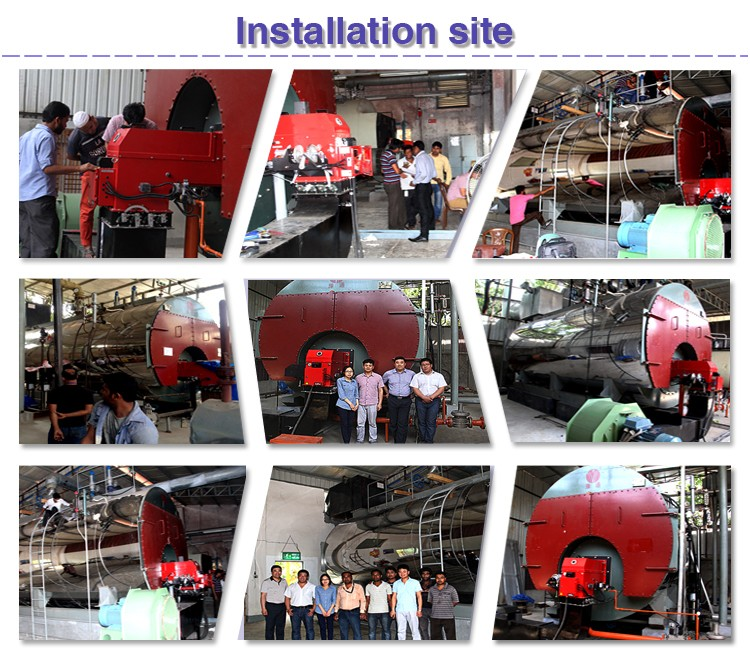 Szl Chain Grate Stoker Coal Fired Full Automatic Steam Boiler,Two ...