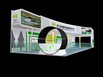 Exhibition Stand Design China : China special design two storey exhibition stand h pvc board modular