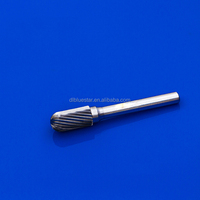 Shape C carbide burrs rotary files standard cut fine cut alu.cut double cut cylinder with radius end /WRC