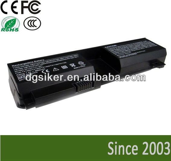 for hp pavilion tx1000 laptop batteries for hp pavilion tx1100 tx1200 tx1300 tx2000, tx2100, tx2500