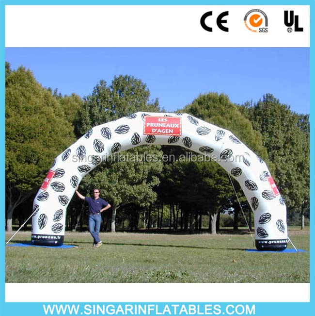 2016 Hot Finish line inflatable arch for sale /durable inflatable archway