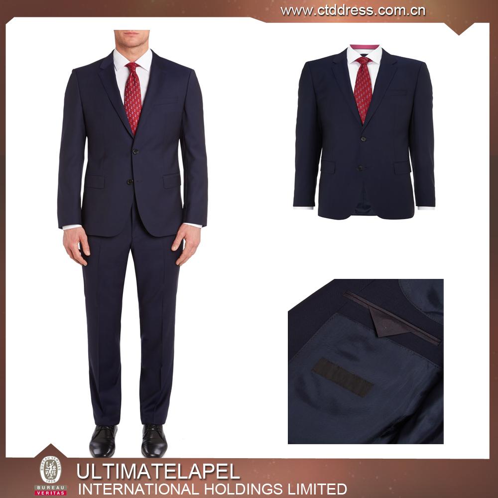 China Men Suit Factory Bespoke Suit Rm1512 Three Piece Men Formal ...