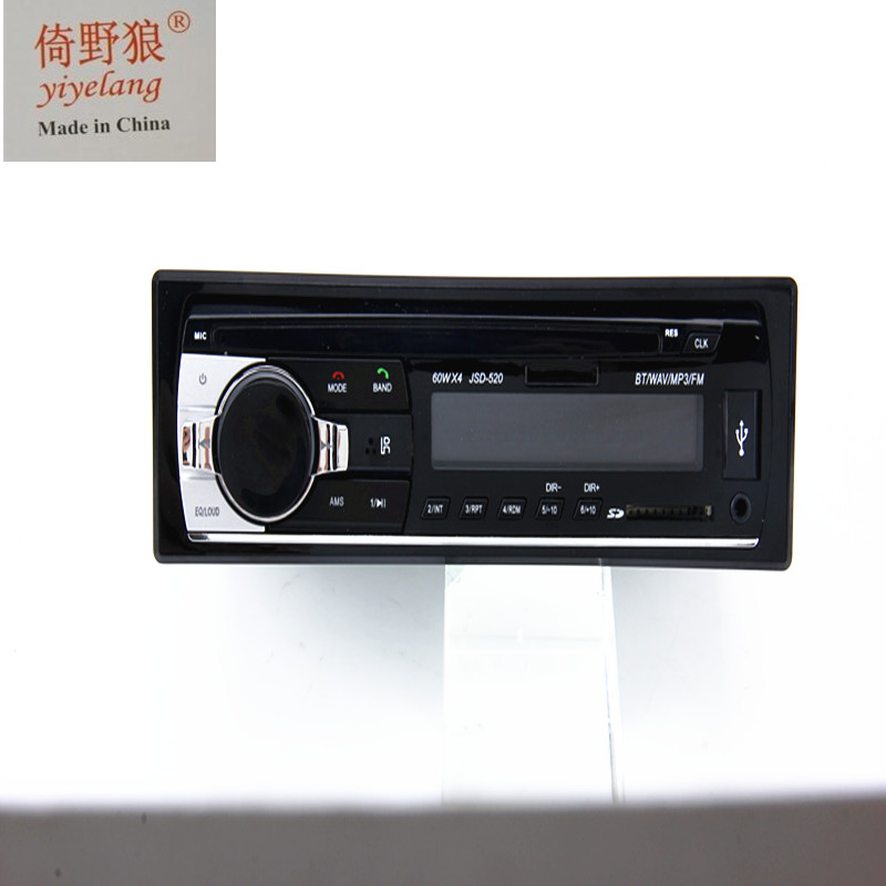 Car Radio Stereo Player Bluetooth Phone AUX-IN MP3 FM USB 1 Din/remote control 12V Car Audio Auto 2017 Sale New