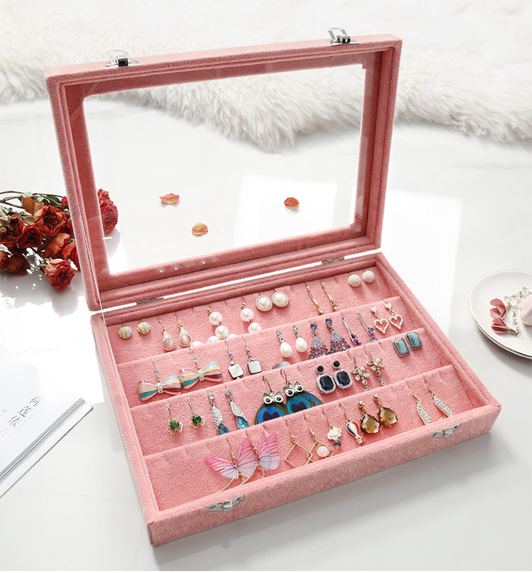 Various Styles and Large Capacity Jewelry Box Ear Box