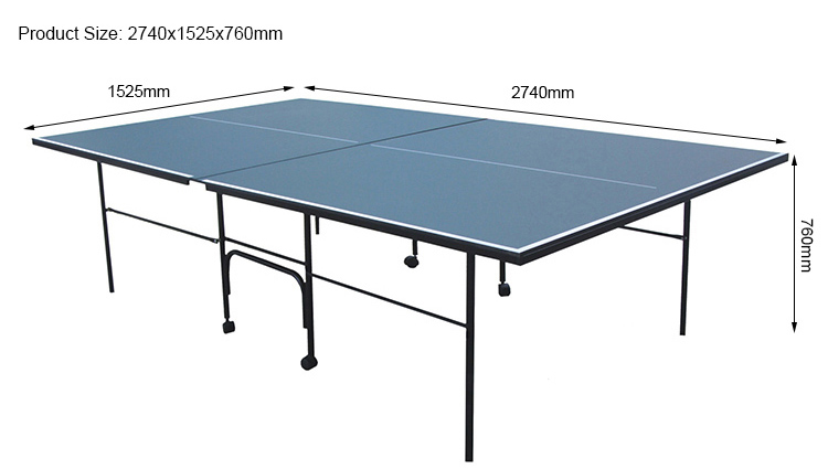 SZX 9FT cheap folding tennis table for individual play china manufacturer