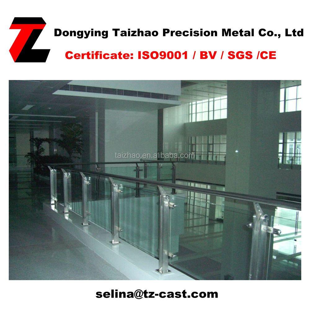 Fence Post For Handrail Post Aluminum Glass Railings