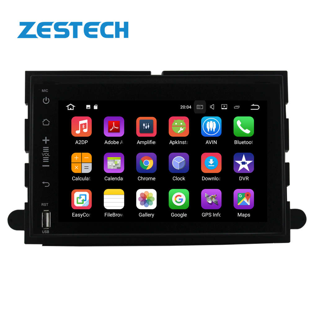 7 inch 2din Android 9.0 Auto DVD Player Für Ford Fusion Explorer 500 F150 F250 F350 Rand Expedition GPS Navigation auto radio multi