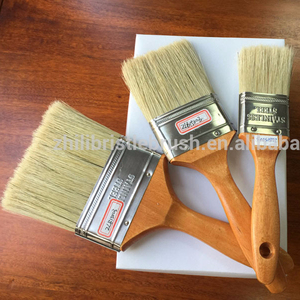 Painting tools boiled bristle paint brush for free sample