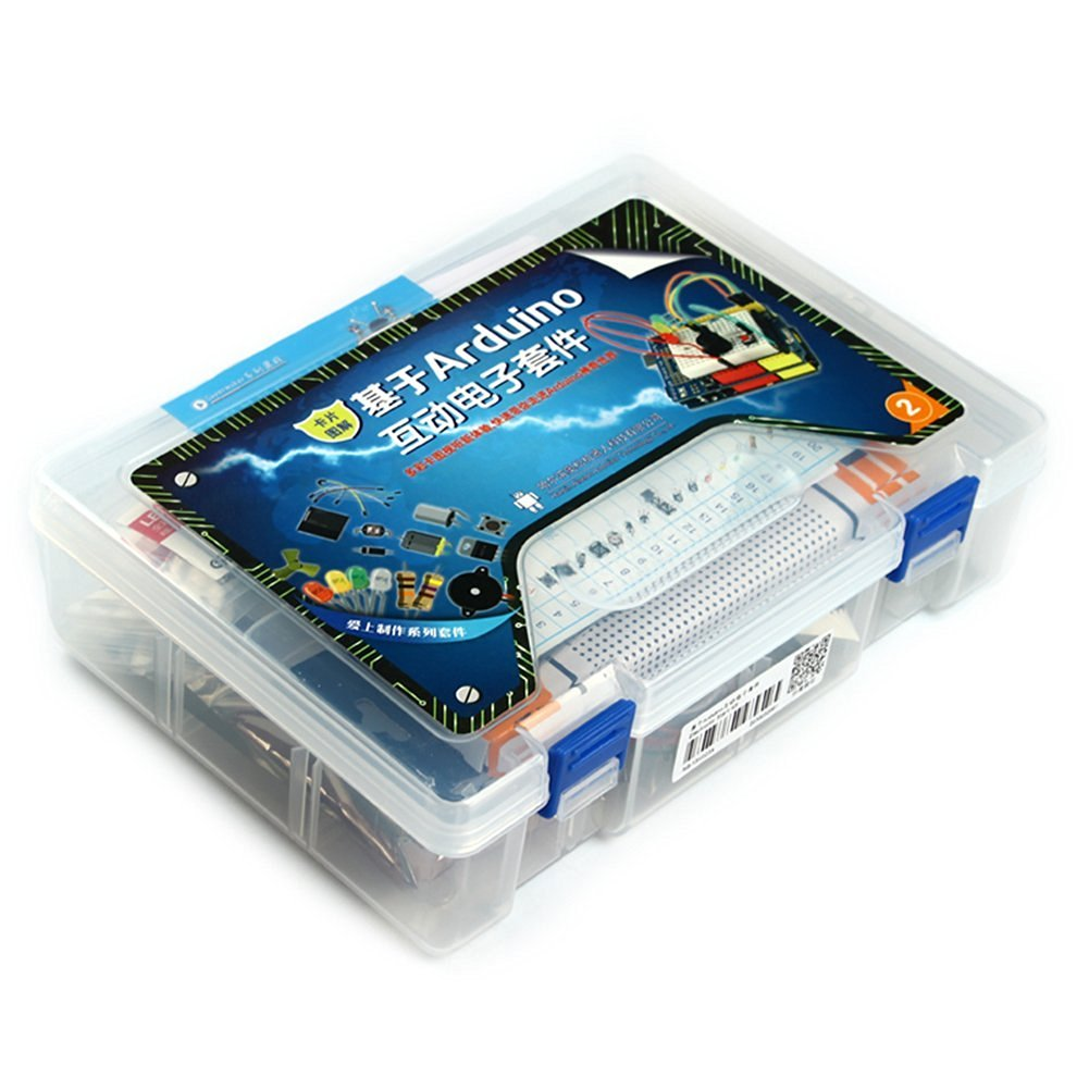 Alsrobot Arduino Electronic Starter Kit/Entry Package for Electronic Professional Student Learning
