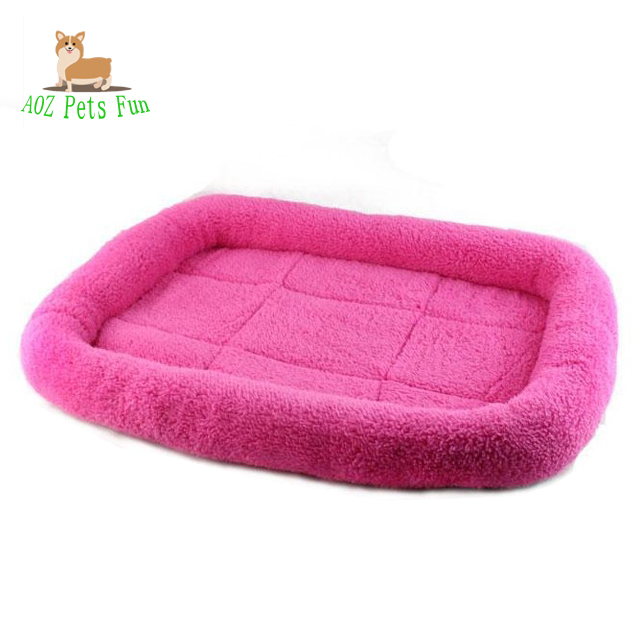 Comfortable soft velet surface pet bed for dog