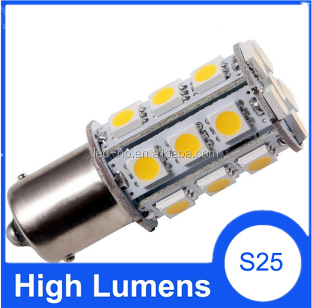 1156 ba15s led, ce and RoHS certification led car light motorcycle turn signal light bulbs