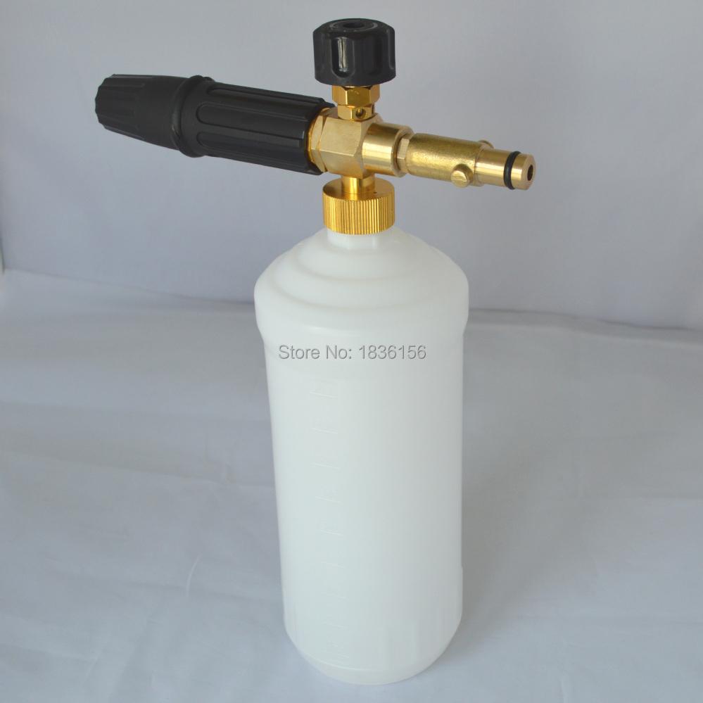 2019 Wholesale Foam Generator/ Foam Nozzle/ Foam Gun/ High Pressure Soap  Foamer For Gerni Pressure Washer Car Washer Cleaning Machine From Atuomoto,  ...