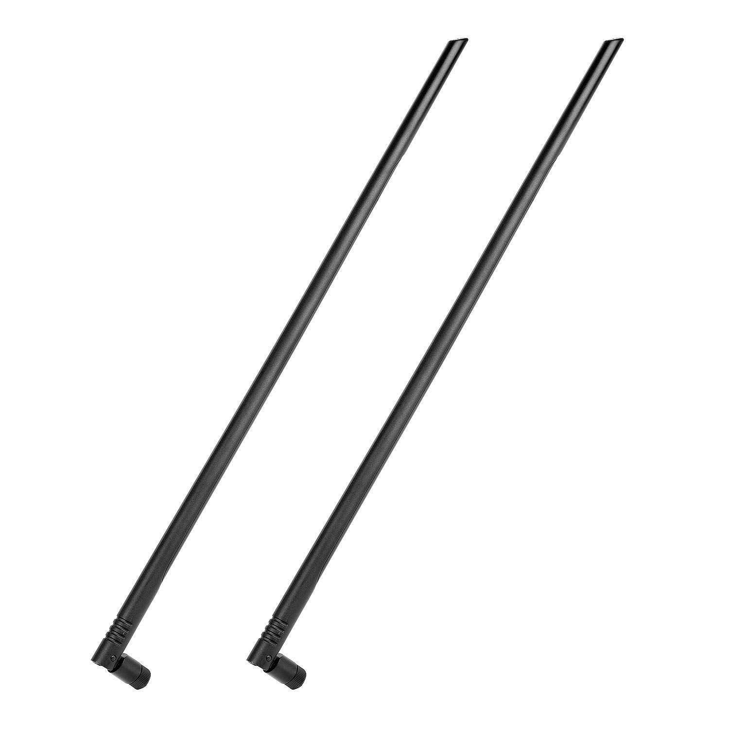 1 Pack, 7 dBi Pig Tail Antenna Importer520 Wi-Fi RP SMA Wireless Antenna//Router Signal Extend Range Booster