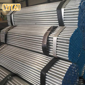 Chinese thin wall mild welded small diameter 16mm galvanized round metal pipe / 20mm metal tube