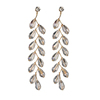 carved beaded Tassel earrings fashion long women's earrings