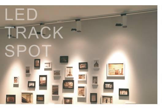 pure aluminium modern cob led track lighting 5w for art gallery art track lighting