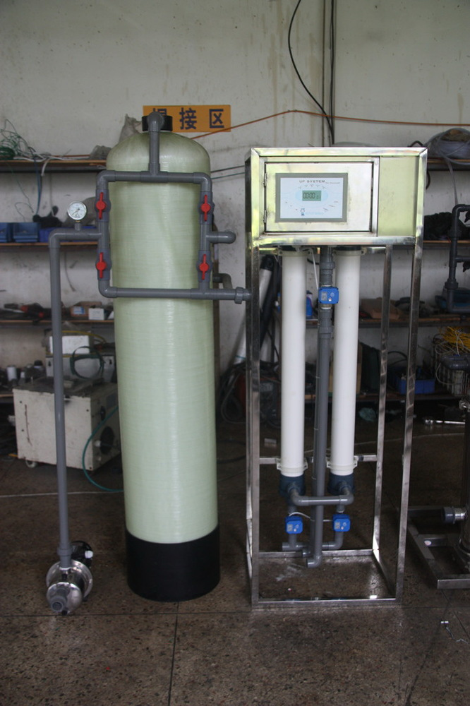building resisdent water filter system 2T per hour for family using