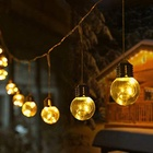 One-Stop Service [ Outdoor Decoration Led String ] Led Led Outdoor String Lights Waterproof Outdoor Decoration Lights G40 LED Copper Wire LED String Light Festival Light 32ft
