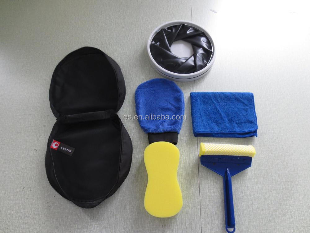 Portable car wash kit