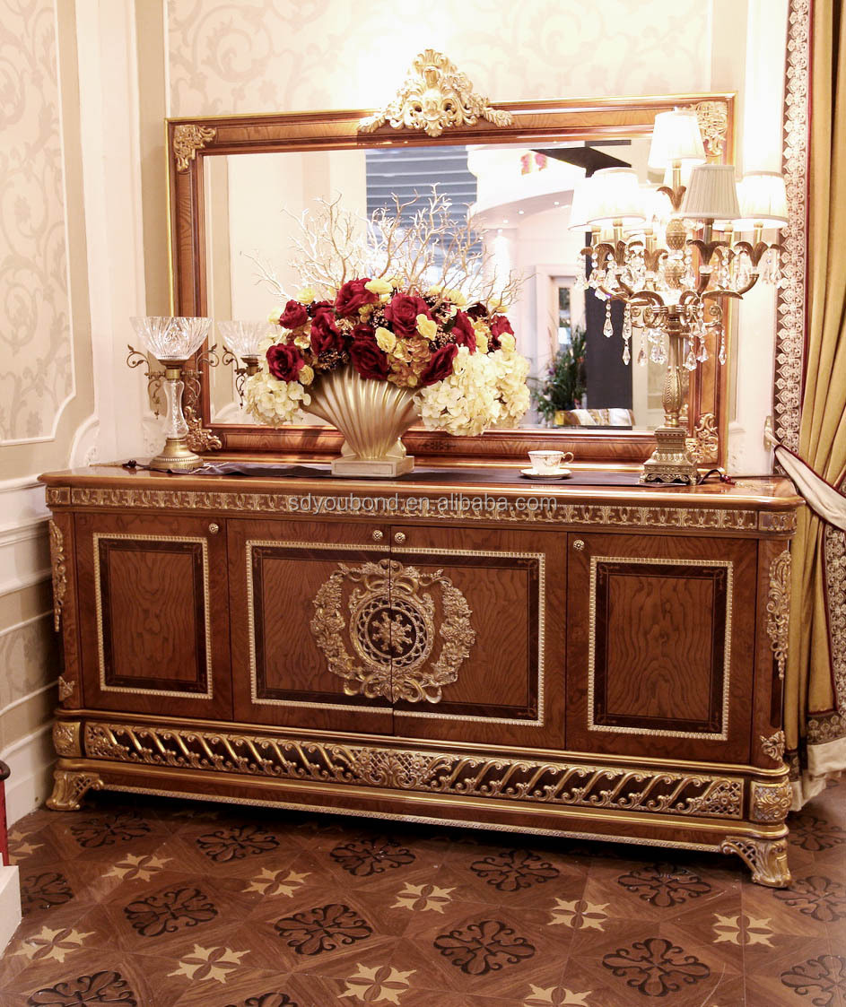 2015 0062 antique european classic italian royal dining room