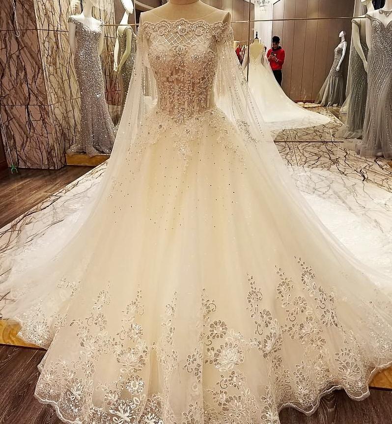 Ls99642 Designer Bridal Gown Patterns Cheap Princess Wedding Dress
