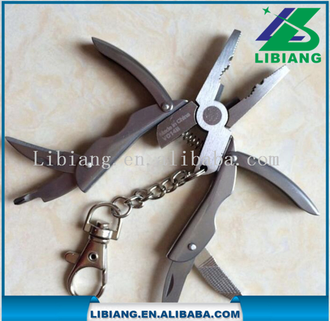Scarabee ontwerp bal keten mini pocket multi tang tool/Multifunctionele mes/Folding knive