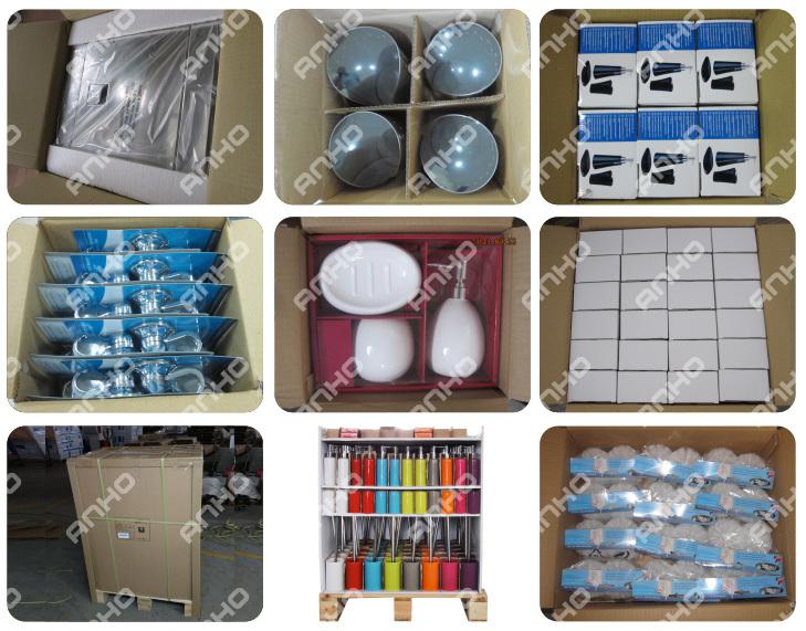 Anho Polyresin 5 шт./компл. туалет и набор для ванной комнаты с мыла держатель для туалетной щетки