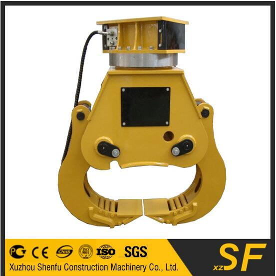 excavator parts splitter wood timber cutter, grapple saw