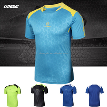 Men's 3D Polyester Sport Shirt Fitted Sport Running T Shirt