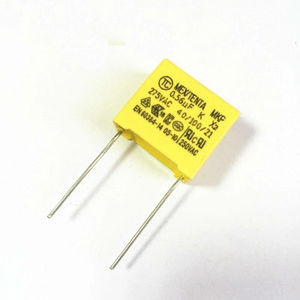 Safety film capacitor 0.56UF 564 275V pin pitch 15mm MKP x2