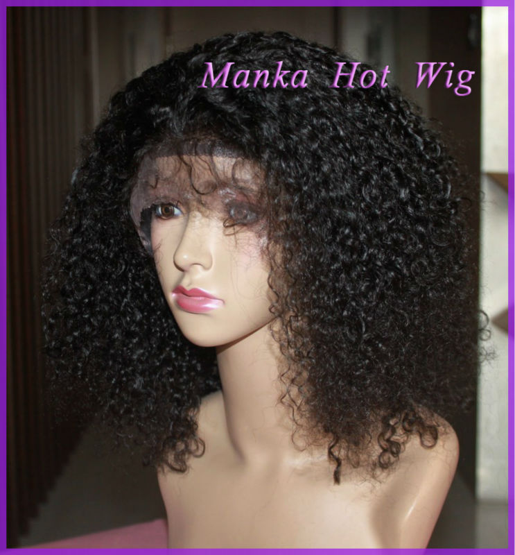 indian remy full lace wigs braid lace wigs afro  curly lace ...