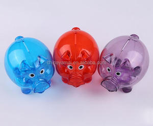 Plastic Piggy Bank Coin Bank