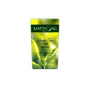 Maithong Green Tea Natural Anti-oxidant Anti-aging Acne Blemish Herbal Herb Soap Made From Thailand by molona