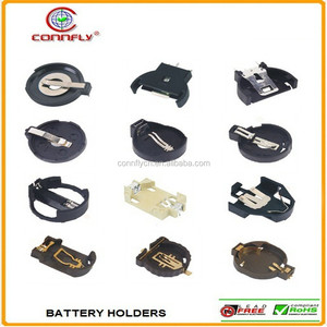 Top grade lithium coin d cell cr 2032 2325 1220 battery holder with CE FCC certificated
