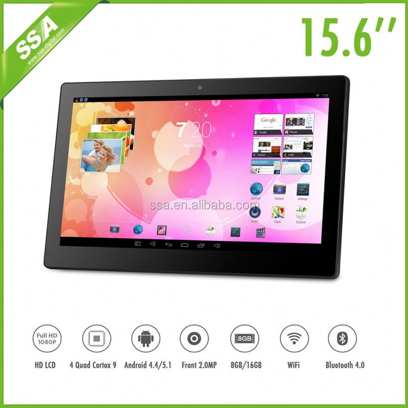 Android 15.6 inch <strong>tablet</strong> all in one touch screen pc for pos super slim touch screen monitor