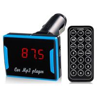 Mini TV Design Multifunctional instructions car mp3 player fm transmitter usb