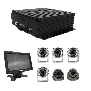 8CH 3G 4G GPS WIFI Mobile DVR Mining Oil Truck CCTV Camera Bus Transportation Management System