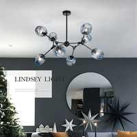 indoor modern large living chandeliers pendant lights for home decor lamps luxury guzhen factory wholesale