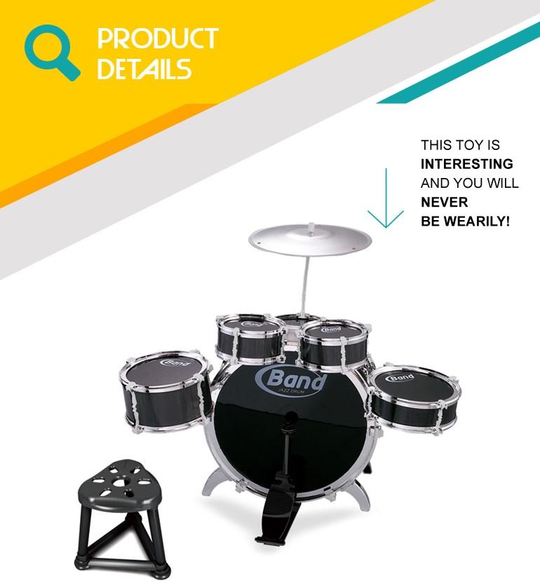 Musical instruments kids jazz drum set prices OC0199776