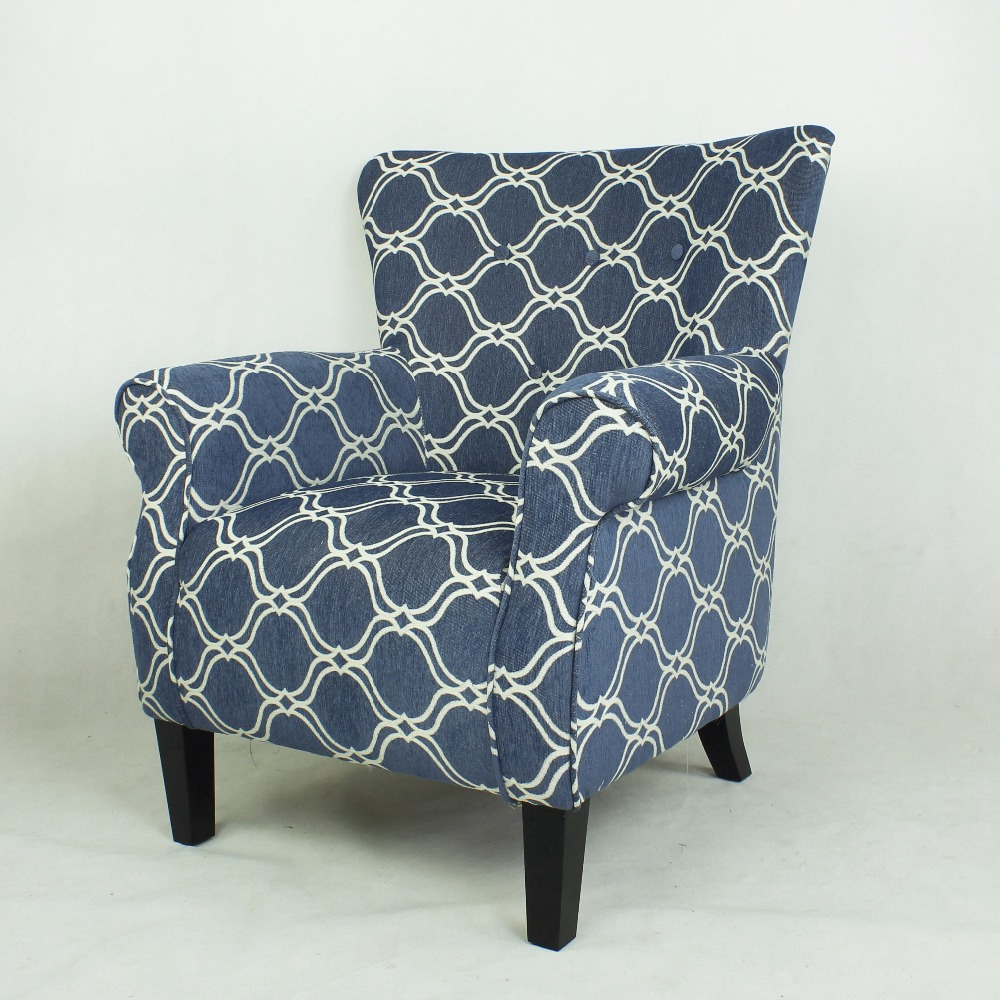 Fabric leisure bedroom chair lounge chair armchair