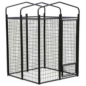 Dog Kennel Modular Box Kennel Welded Animal Enclosure Medium To Large Dog Breeds And Pets Crate