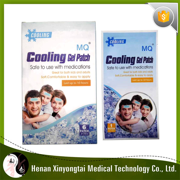Hot sale Instant physical fever reducing cooling patch/plaster