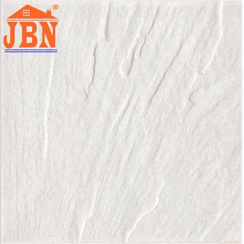Bathroom Anti Slip 12x12 White Ceramic Floor Tile Low